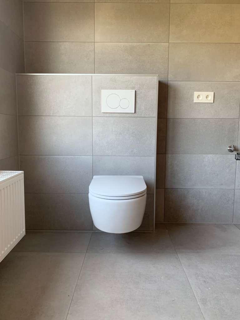 ingebouwd toilet